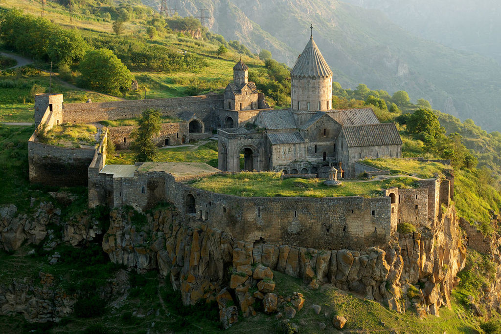 Wings of Tatev, visit to Armenia